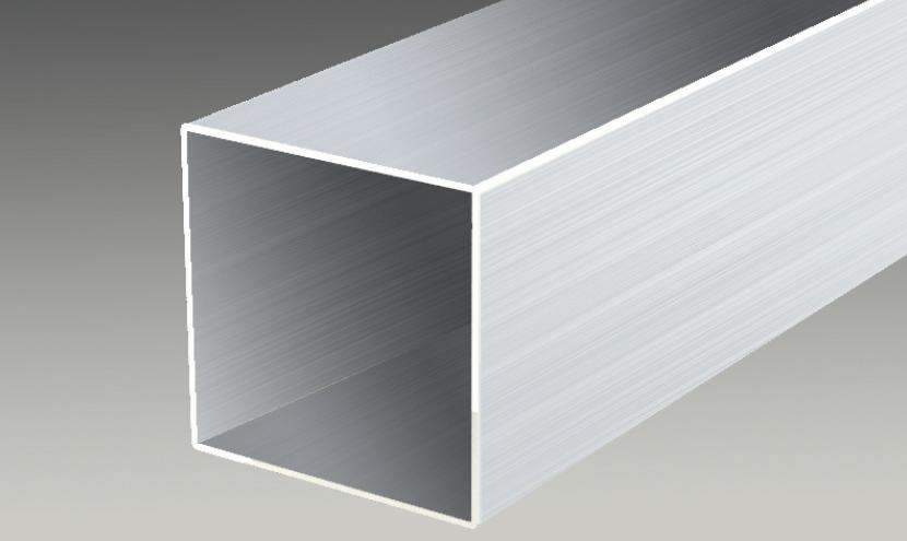 アルミ型材対応形状事例角パイプ。三恵ネットの日本製アルミ型材製品一覧。