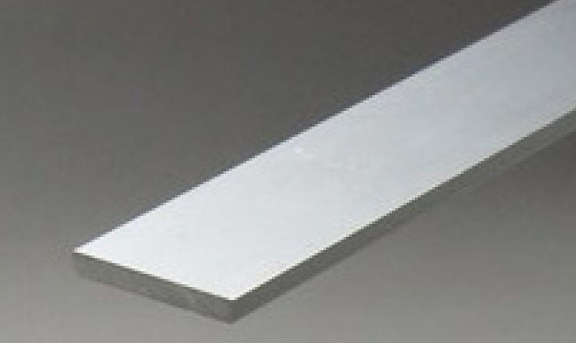 アルミ型材対応形状事例フラットバー。三恵ネットの日本製アルミ型材製品一覧。