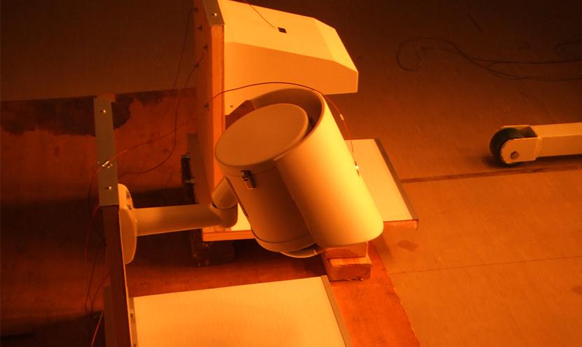 遮熱試験。特注カメラと電気機器用ハウジング品質・検査・試験の取り組み。