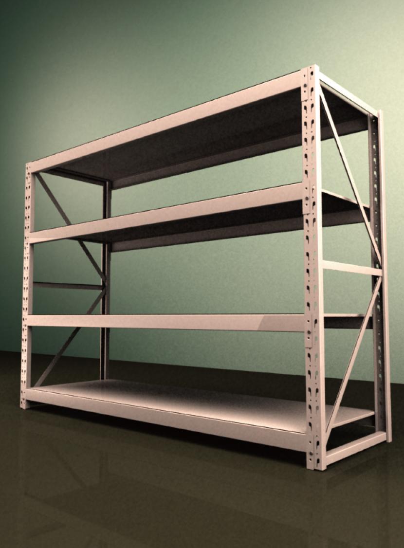 高品質低価格のコンテナ輸入品店舗用陳列棚。