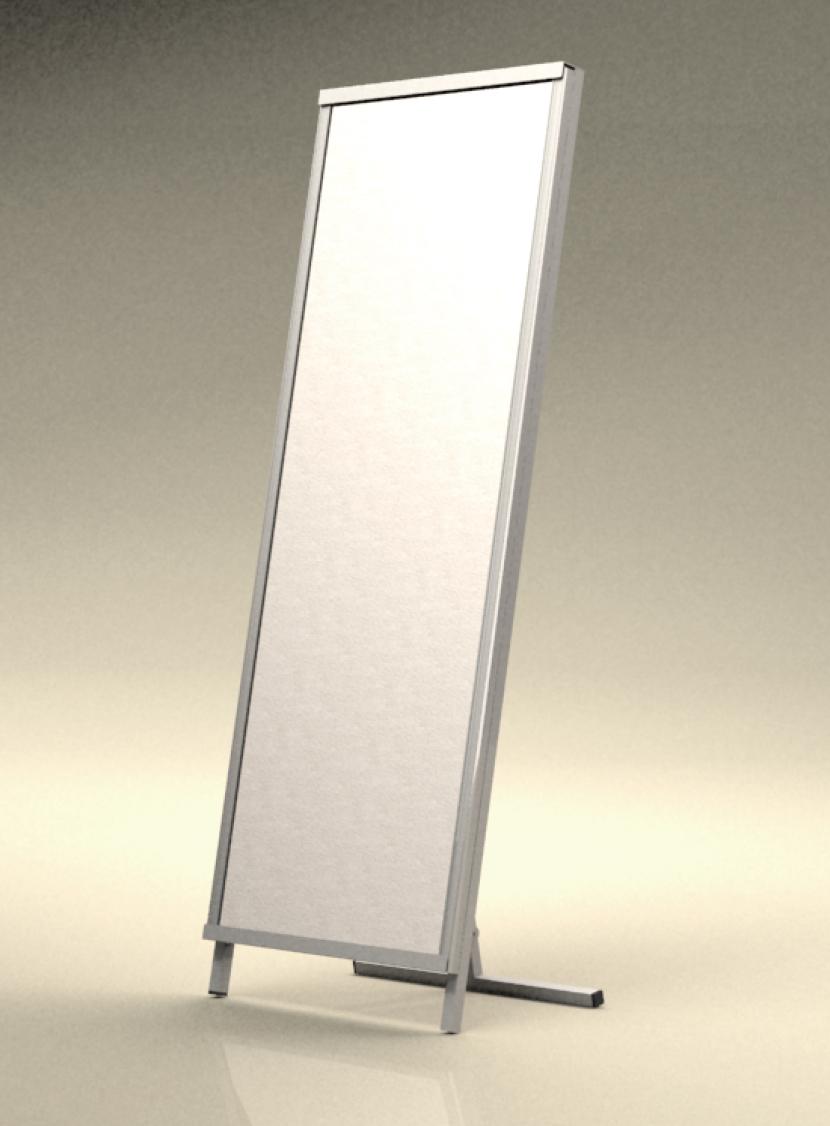 高品質低価格のコンテナ輸入品携帯型スタンドミラー。三恵ネットの商業施設製品一覧。