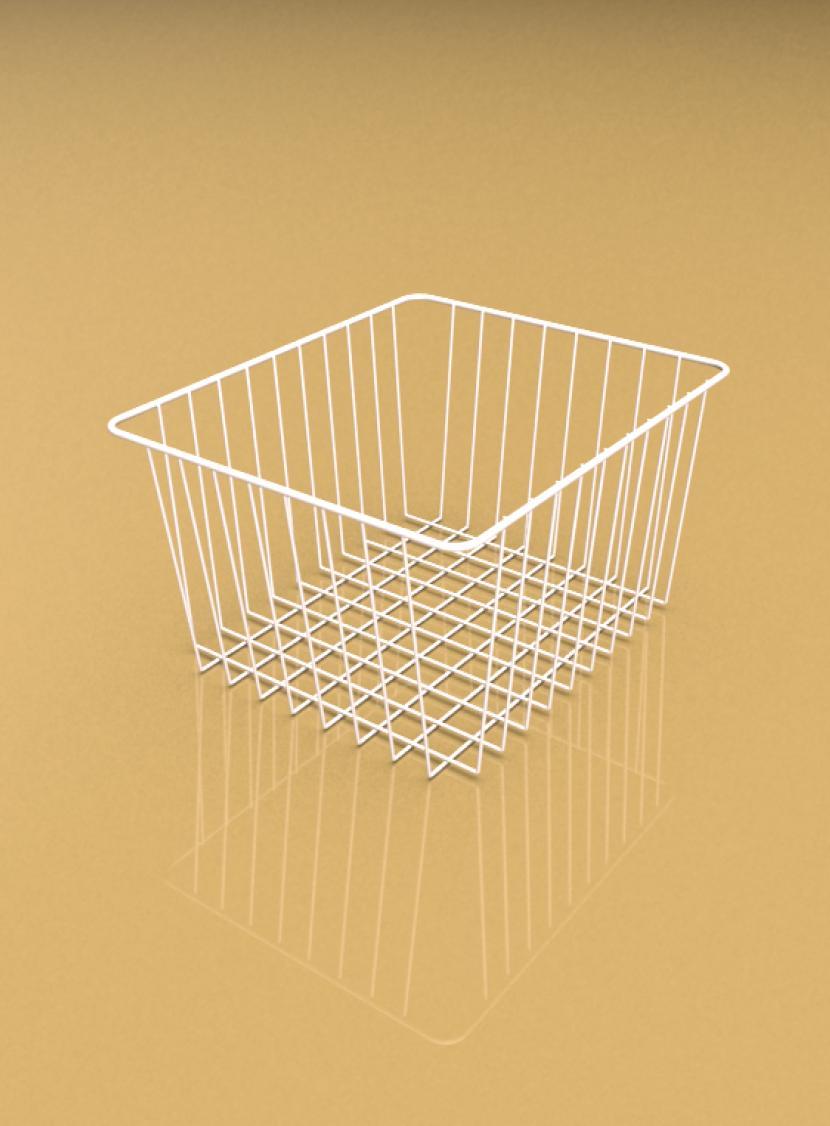 高品質低価格のコンテナ輸入線材加工品バスケット。三恵ネットの商業施設製品一覧。
