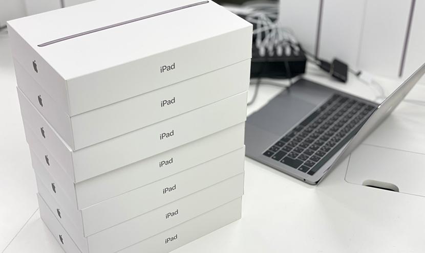 設定台数が多い悩みを解消。iPad・タブレット新規・入れ替えキッティング作業なら三恵ネット。