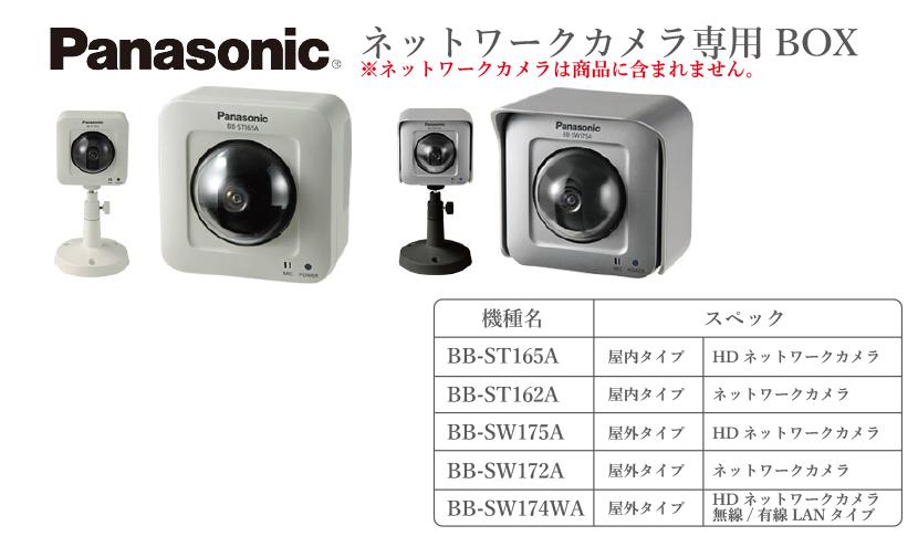 三恵ネットのパナソニックネットワークカメラ筐体APbox。