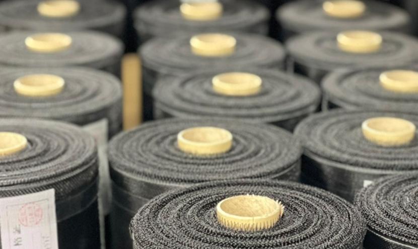 防虫網の検査証。網戸・防虫網のプロのこだわり。防虫網メーカーの製造工程と品質保証。