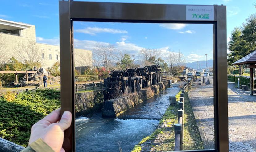 家族連れで楽しめる砺波市チューリップ公園。全国唯一最大の「五連揚水水車」。スッキリ見える網戸は快適ネット。