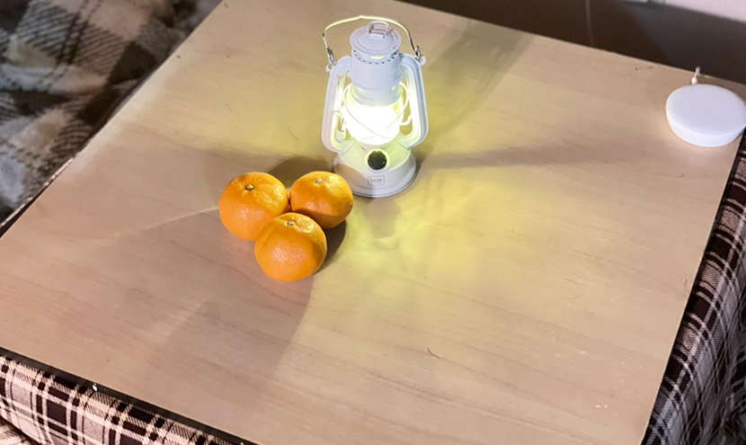 富山県大雪災害に備える(富山市、高岡市、砺波市)。防災アイテム懐中電灯やランプなど準備する。